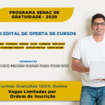 Nova oferta de cursos do Programa Senac Gratuidade